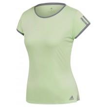 Tee-Shirt Adidas Femme Club 3 Stripes Vert