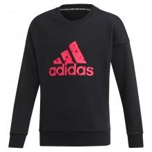 Sweat Adidas Training Junior Fille Must Have Bos Noir