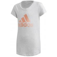 Tee-Shirt Adidas Training Junior Fille ID Winner Blanc