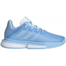 Chaussures Adidas Femme Solematch Bounce Toutes Surfaces Bleues