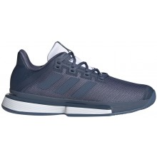 Chaussures Adidas Solematch Bounce Terre Battue Marines
