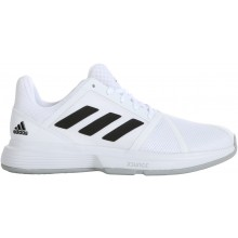 Chaussures Adidas Courtjam Bounce Toutes Surfaces Blanches