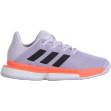 Chaussures Adidas Femme Solematch Bounce Toutes Surfaces Violettes