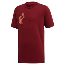 Tee-Shirt Adidas Junior Category Logo Bordeaux