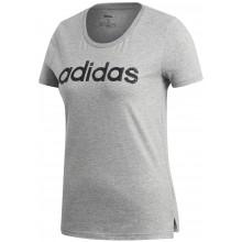 Tee-Shirt Adidas Training Femme Essentials Linear Gris