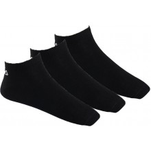 Chaussettes Fila Basses 3 Paires Noires