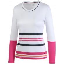 Tee-Shirt Fila Femme Aurora Manches Longues Blanc