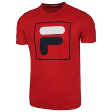 Tee-Shirt Fila Bernie Rouge