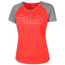 Tee-Shirt Fila Femme Tove Rouge