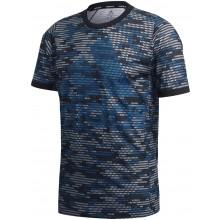 Tee-Shirt Adidas Logo Primeblue Bleu