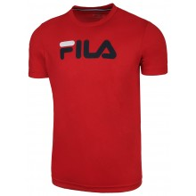 Tee-Shirt Fila Junior Logo Rouge