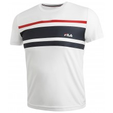 Tee-shirt Fila Junior Trey Blanc