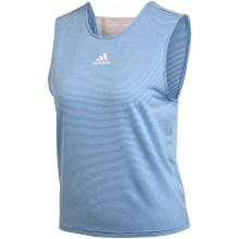Débardeur Adidas Femme Primeblue Athlètes Bleu