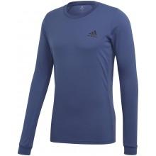 Tee-Shirt Adidas Heat Ready Manches Longues Bleu
