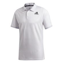Polo Adidas Primeblue Athlètes Blanc