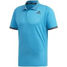 Polo Adidas PrimeBlue Athlètes Bleu