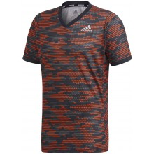 Tee-Shirt Adidas PrimeBlue Paris Athlètes Orange