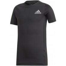 Tee-Shirt Adidas Junior Garçon Noir