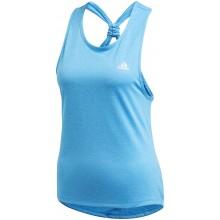 Débardeur Adidas Femme Club Tie Bleu
