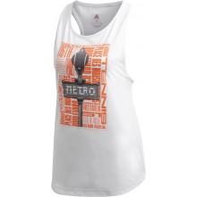 Tee-Shirt adidas Femme Graphique Paris Blanc