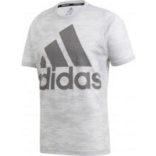 Tee-Shirt Adidas PrimeBlue Logo Gris