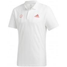 Polo Adidas Frellift Zverev Blanc