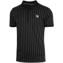 Polo Fila Stripes Noir