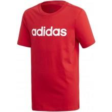 Tee-Shirt Adidas Junior Garçon Lin Rouge
