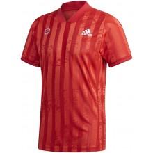 Tee-Shirt Adidas Freelift Zverev Rouge