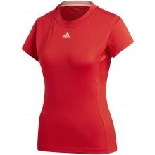 Tee-Shirt Femme Adidas Tennis Rouge