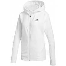 Veste Adidas Femme Aeroready Knit Blanche