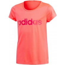 Tee-Shirt Adidas Junior Fille Cardio Rose
