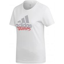 Tee-Shirt Femme Adidas Tennis Blanc