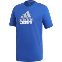 Tee-Shirt Adidas Tennis Bleu