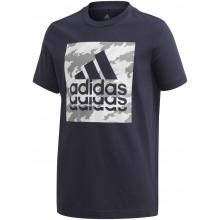 Tee-Shirt Adidas Junior Garçon Graphic Marine