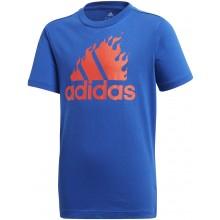 Tee-Shirt Adidas Junior Garçon Graphic Bleu