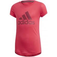 Tee-Shirt adidas Junior Fille Bos Rose