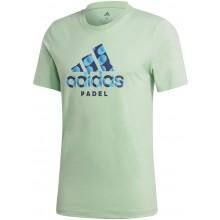 Tee-Shirt Adidas Padel Vert