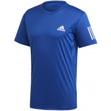 Tee-Shirt Adidas Club 3 Stripes Bleu