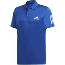 Polo Adidas Club 3 Stripes Bleu