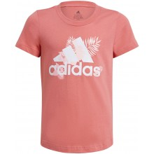 Tee-Shirt Adidas Junior Fille Rose