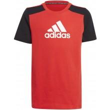 Tee-Shirt Adidas Junior Garçon Rouge