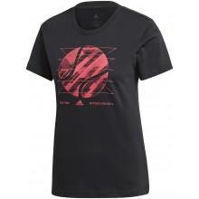 Tee-Shirt Adidas Femme New York Noir