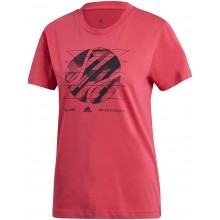 Tee-Shirt adidas Femme New York Rose