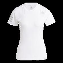 Tee-Shirt adidas Femme Club Blanc