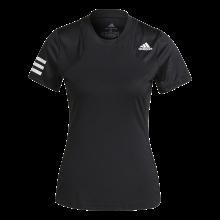 Tee-Shirt adidas Femme Club Noir