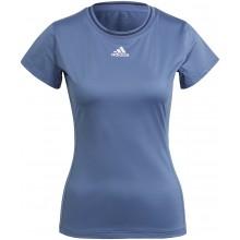 Tee-Shirt adidas Femme Freelift Bleu