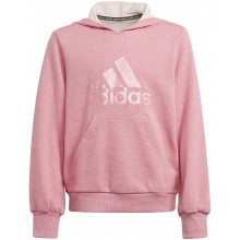 Sweat à capuche adidas Junior Fille Badge of Sport Rose