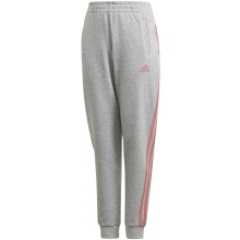 Pantalon Adidas Junior Fille 3 Stripes Gris