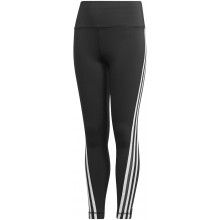 Collant adidas Junior Fille 3 Stripes Noir